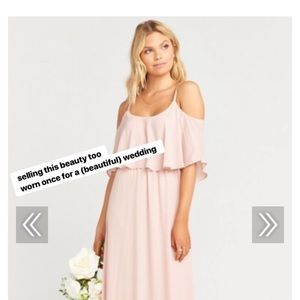 "Show Me Your Mumu ""caitlin"" bridesmaid dress"